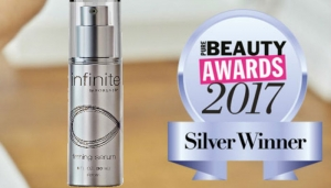 Infinite Firming Serum wins silver at the 2017 Pure Beauty Awards